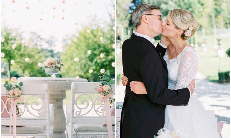 Caroline & Klaus- Classic Pastel & Gold Wedding